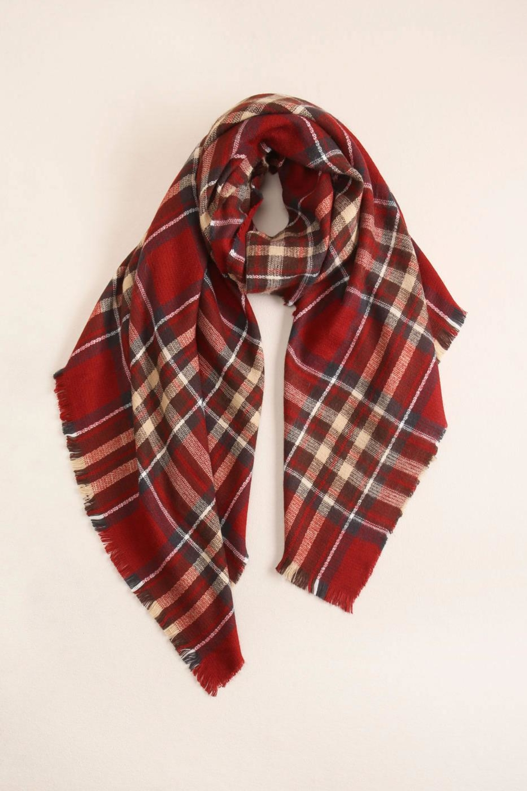Look by M Plaid Scarf - Main Image