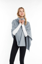 Look by M Poncho Sweater Top - Product Mini Image