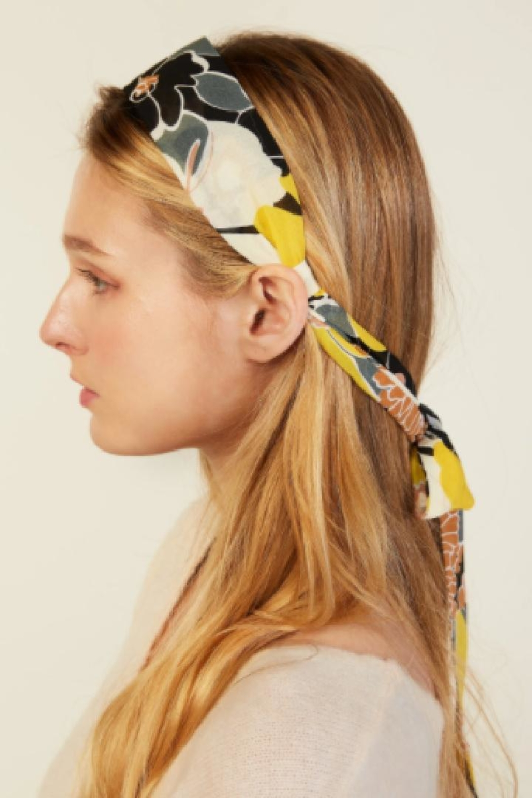 Look by M Retro Headband Scarf - Front Full Image