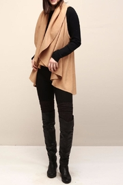 Look by M Selena Shawl Vest - Front full body