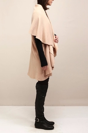 Look by M Selena Shawl Vest - Back cropped