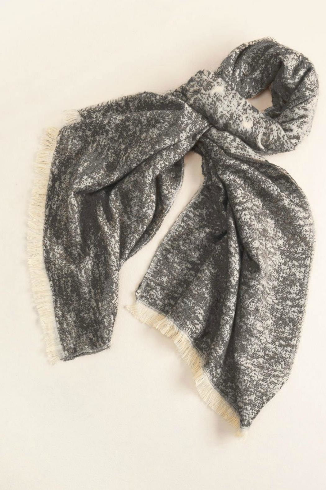 Look by M Simple Heather Scarf - Front Cropped Image
