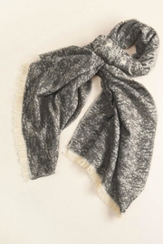 Look by M Simple Heather Scarf - Front cropped