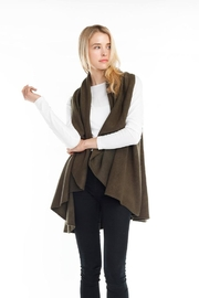 Look by M Solid Shawl Vest - Product Mini Image