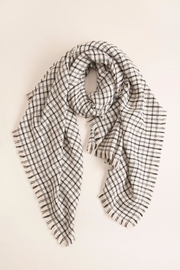 Look by M Checkered Blanket Scarf - Product Mini Image