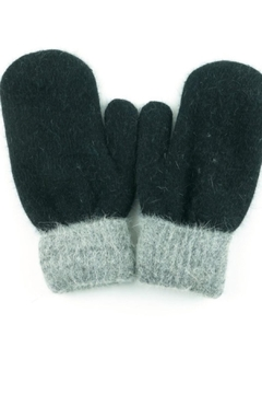 Shoptiques Product: Two Tone Mittens