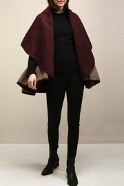 Look by M Two-Tone Shawl Vest - Product Mini Image