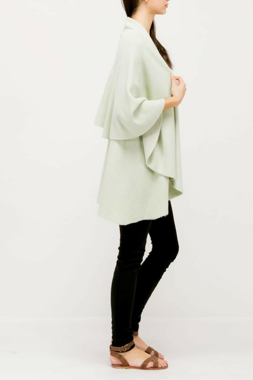 Look by M Versatile Shawl Vest - Front Full Image