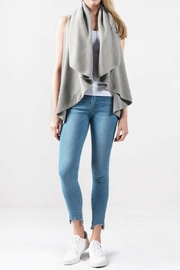 Look by M Versatile Shawl Vest - Front full body