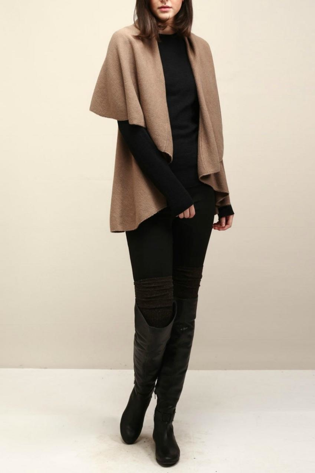 Look by M Versatile Shawl Vest - Main Image