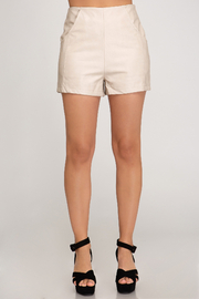 She and Sky Looks Good Shorts - Front cropped