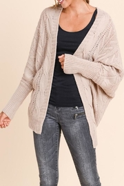 Apricot Lane Loose Fit Cardi - Front cropped
