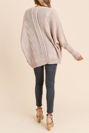 Apricot Lane Loose Fit Cardi - Side cropped