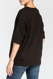 Cherish Loose Fit Short Sleeve Sweatshirt - Side cropped