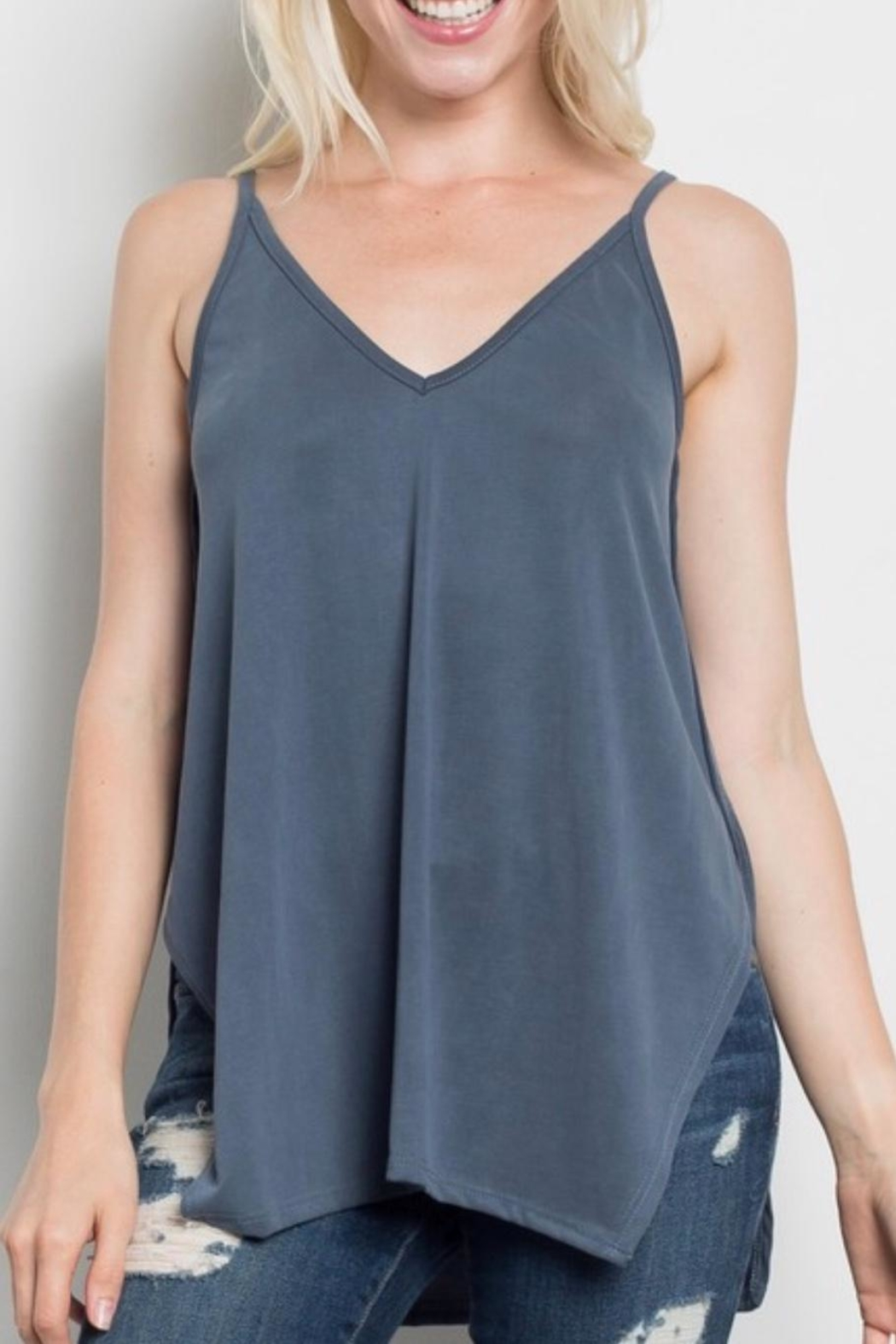 Sweet Claire Loose Fit Tank - Main Image