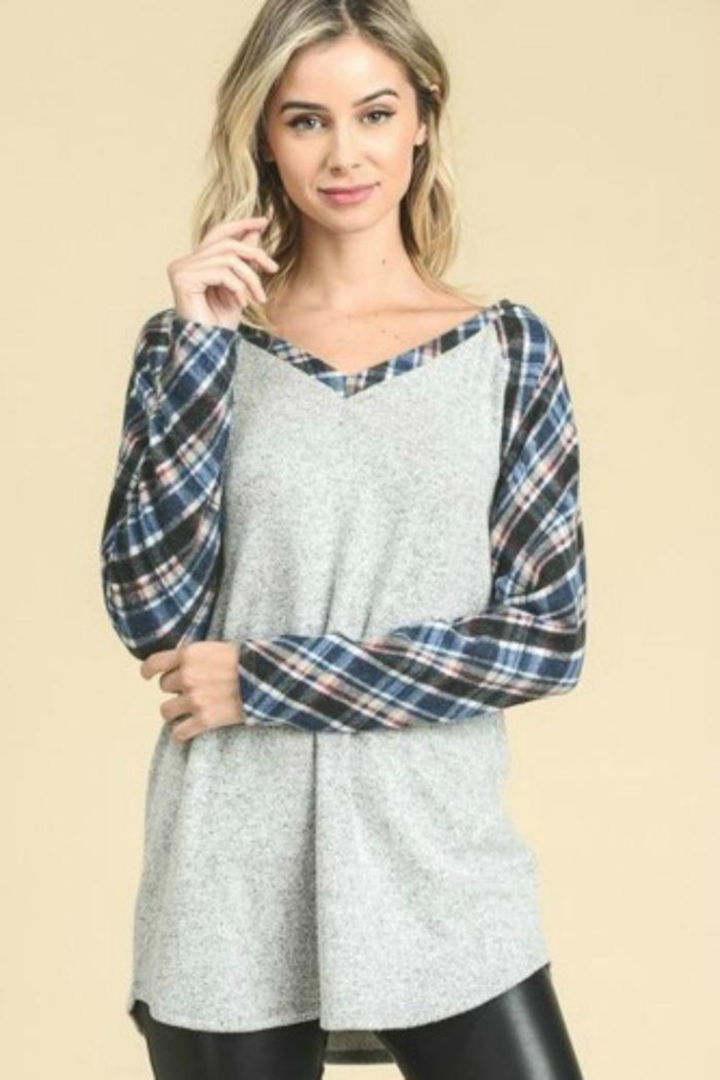 vanilla bay Loose Fit Top - Front Cropped Image