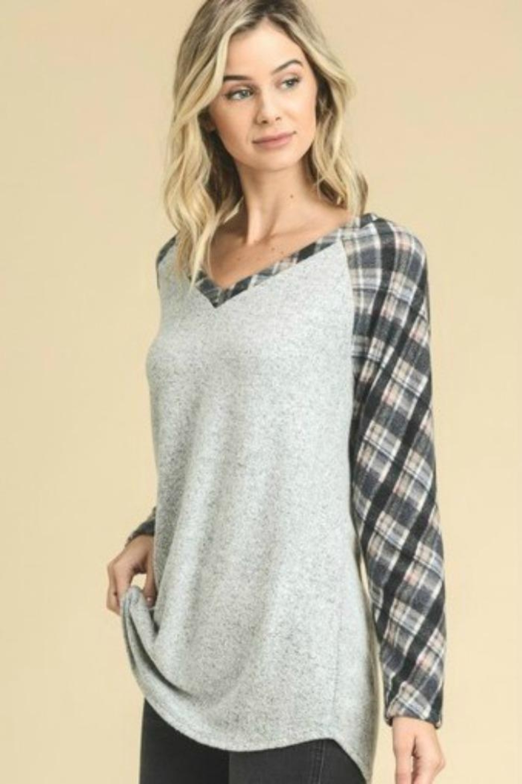 vanilla bay Loose Fit Top - Front Full Image