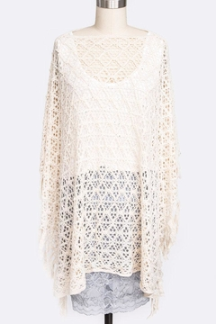 Shoptiques Product: Loose Knit Poncho