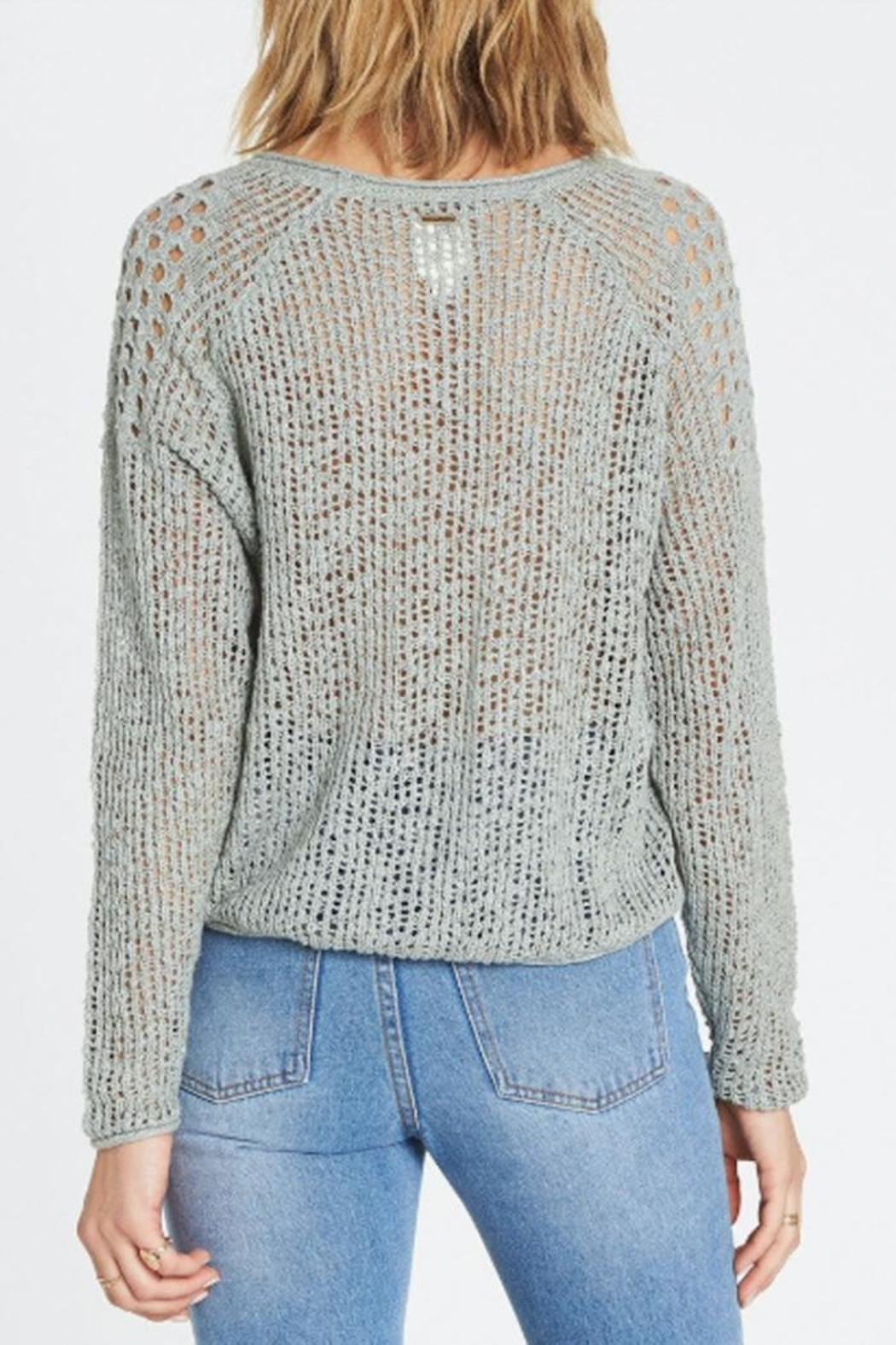 Billabong Loose Knit Sweater - Side Cropped Image