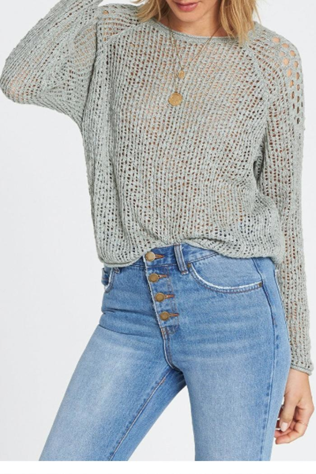 Billabong Loose Knit Sweater - Front Full Image
