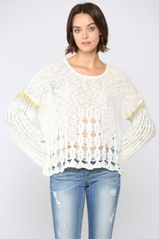 Fate Loose Knitted Sweater - Product Mini Image
