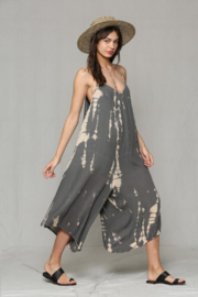 By Together Loose Tie Dye Jumpsuit - Front cropped