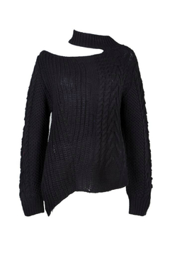 Jovonna  Lorde Knitted Sweater w Collar - Alternate List Image
