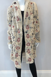 Johnny Was Loreido Faux Fur Coat - Front cropped