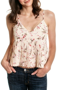 Orb Lorelle Pleated Cami - Product List Image