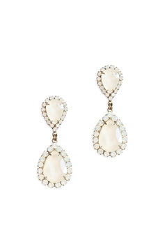 Shoptiques Product: White Abba Earring