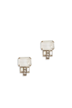 Shoptiques Product: White Alex Studs