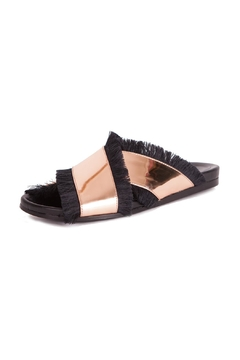 Shoptiques Product: X Shaped Leather Sandals