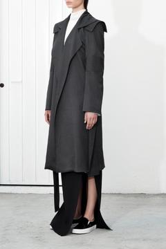 Shoptiques Product: Gray Trench Coat