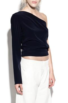 Shoptiques Product: One Sleeve Silk Top