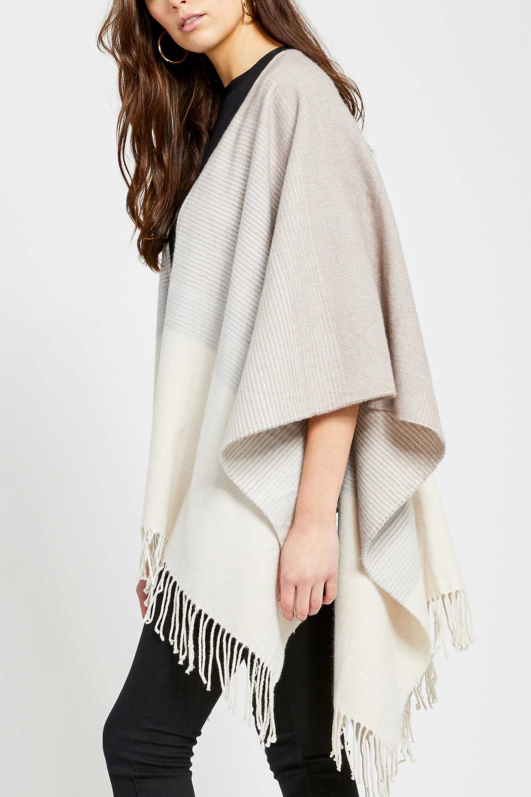 Gentle Fawn Loretto Knot Kimono Shawl - Side Cropped Image