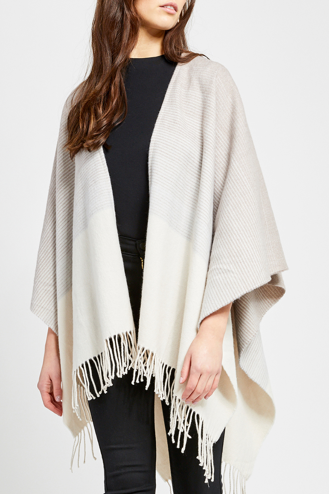 Gentle Fawn Loretto Knot Kimono Shawl - Front Cropped Image