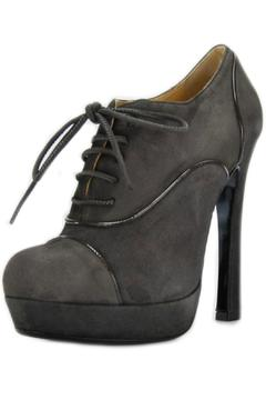 Shoptiques Product: Grey Lace-Up Bootie