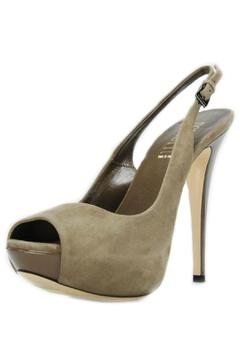Shoptiques Product: Taupe Suede Slingback