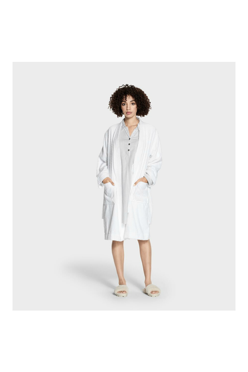 Ugg LORIE TERRY ROBE - Front Full Image