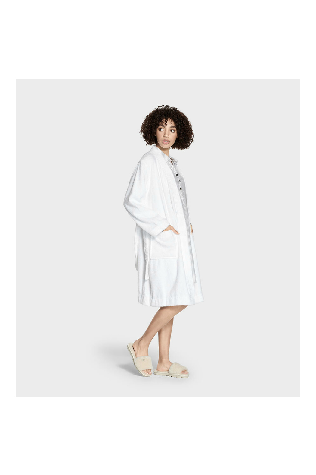 Ugg LORIE TERRY ROBE - Side Cropped Image