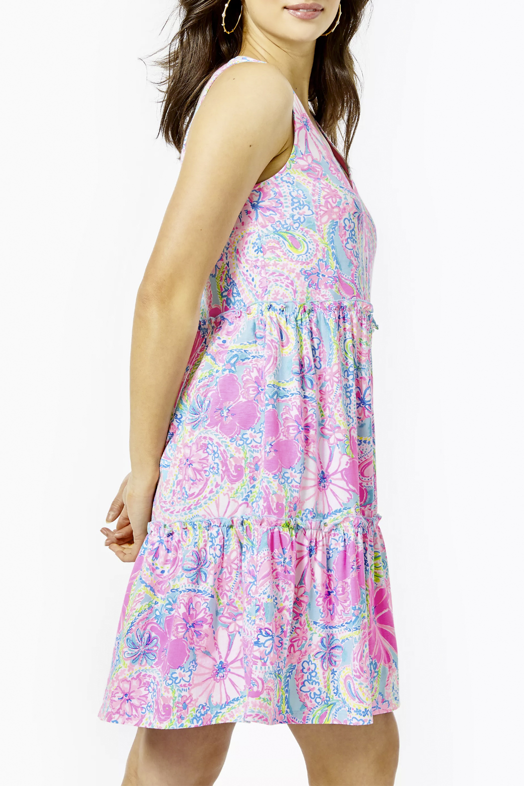 Lilly Pulitzer  Lorina Swing Dress - Front Full Image
