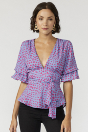 Adelyn Rae Lorna Blouse - Product Mini Image