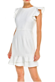 C. Luce Lorraine Ruffle Dress - Product Mini Image