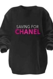 Los Angeles Trading Co.  Sweater - Saving For Chanel - Product Mini Image