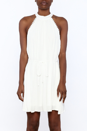 Lost + Wander White Lily Sleeveless Dress - Side cropped