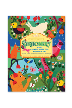 Eeboo Lost Arts Stationary: In The Meadow - Product List Image