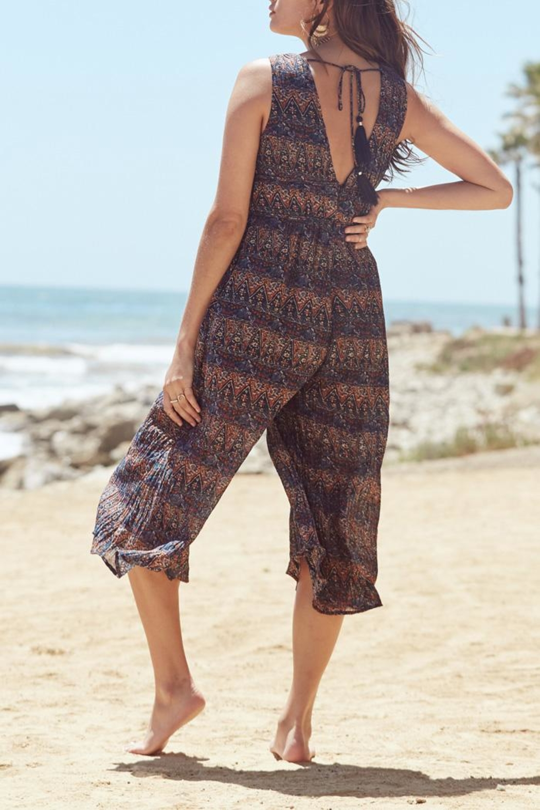 Lost + Wander Bali Jumpsuit - Side Cropped Image