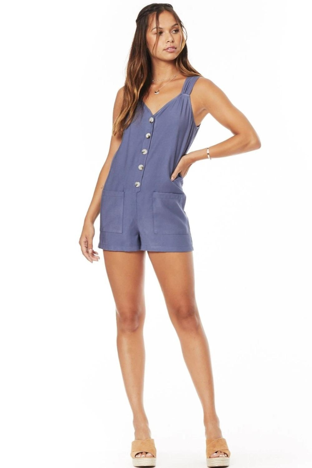 Lost + Wander Lost & Wonder Sail Away Romper - Main Image