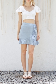 Lost + Wander Mare Ruffled Skirt - Front cropped