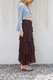 Lost + Wander Mare Tie Top - Front full body